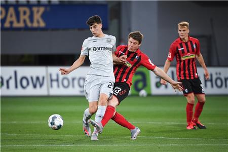 Kai Havertz (links) steht im Fokus etlicher internationaler Topvereine. Foto: Gilliar/GES